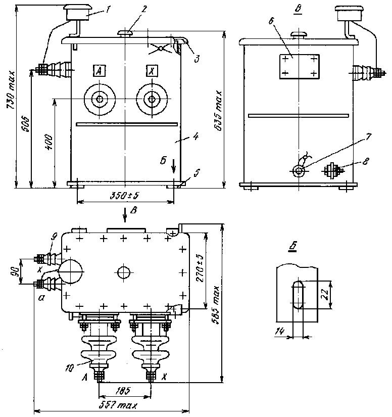 Трансформатор омп-10 схема подключения